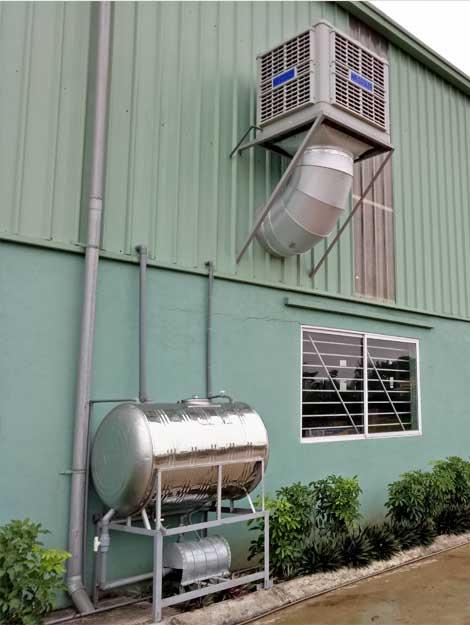 Hệ thống thông gió làm mát