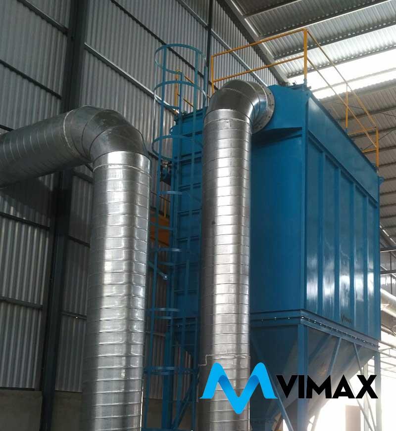 Thiết kế lắp đặt hệ thống lọc bụi nhà xưởng - Tổng thầu cơ điện VIMAX