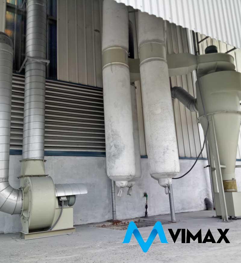 Lắp đặt hệ thống hút bụi kim loại xử lý khói kẽm